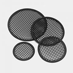 Round Speaker Grille/Heavy Duty PVC Surround